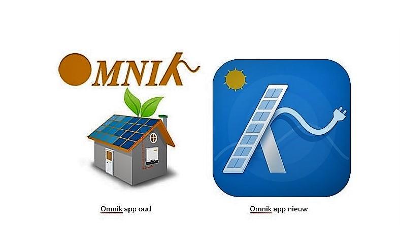 Omnik app oud en nieuw